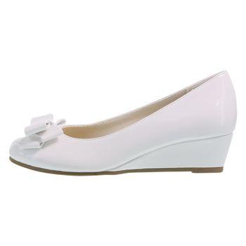 Zapatos de cuña de vestir con plataforma de charol Mairin para niñas