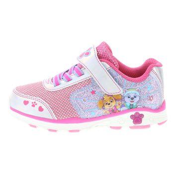 Zapatos para correr con luces de Paw Patrol para niñas pequeñas