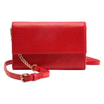 Bolso cruzado Rojo para mujer