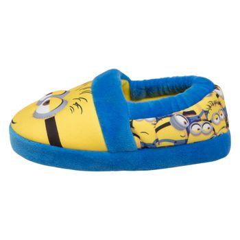 Pantuflas Minion para niños pequeños