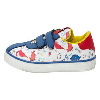 Zapatos Dino court para niños pequeños