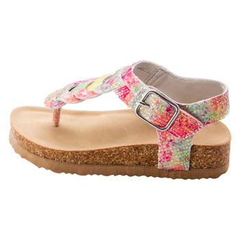 Sandalias Arcoíris para niñas pequeñas